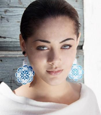 Blue-White (H)EARRINGS 03