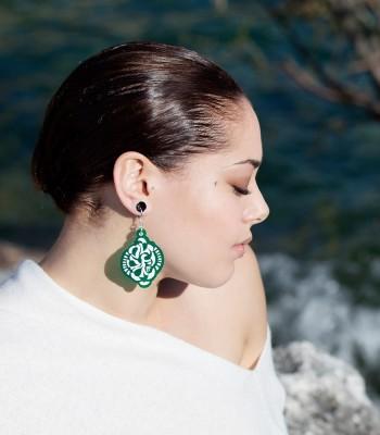 Green (H)EARRINGS 02