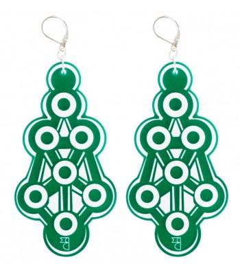 Green (H)EARRINGS 01