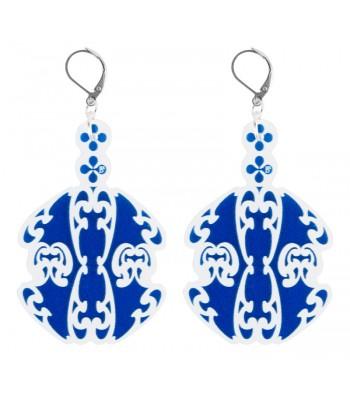 Blue-White (H)EARRINGS 01