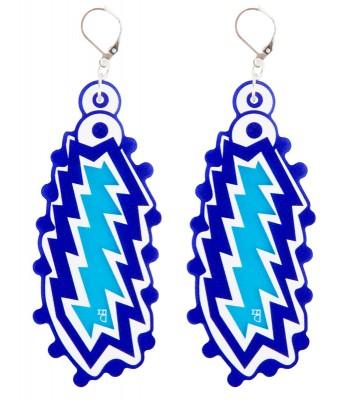 Blue-Light Blue-White (H)EARRINGS 04