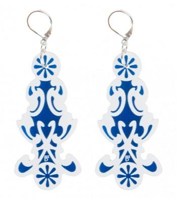 Blue-White (H)EARRINGS 04